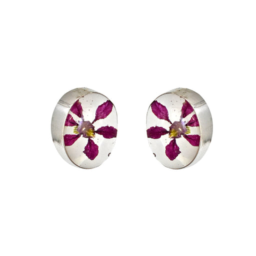 Flores Heather Oval Stud Earrings