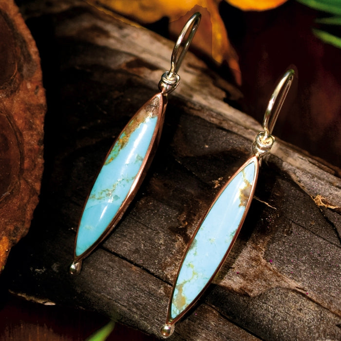 Delphi Turquoise Drop Earrings
