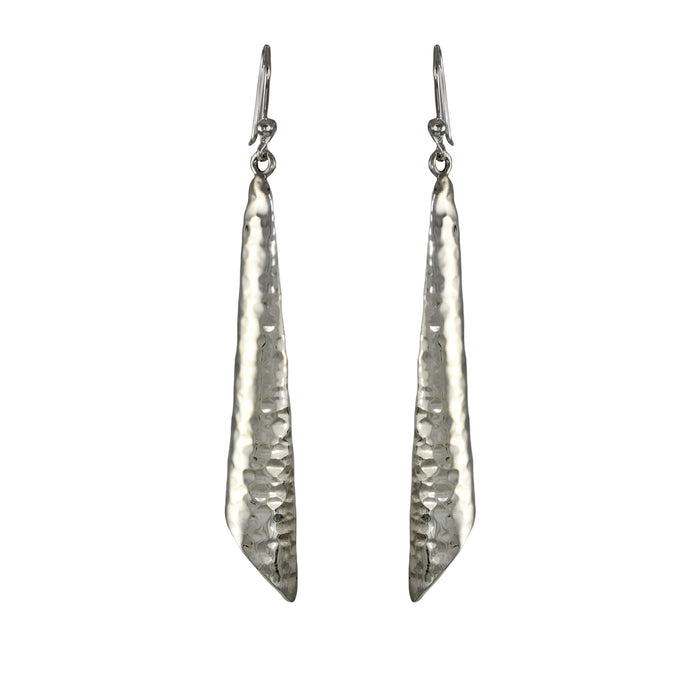 Erin Hammered Drop Earrings