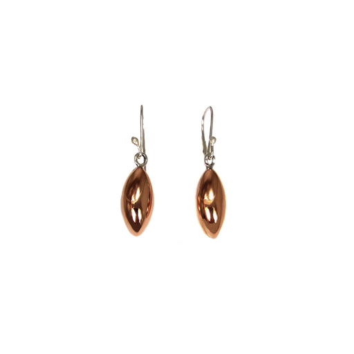 Rioja Copper/Silver Drop Earrings