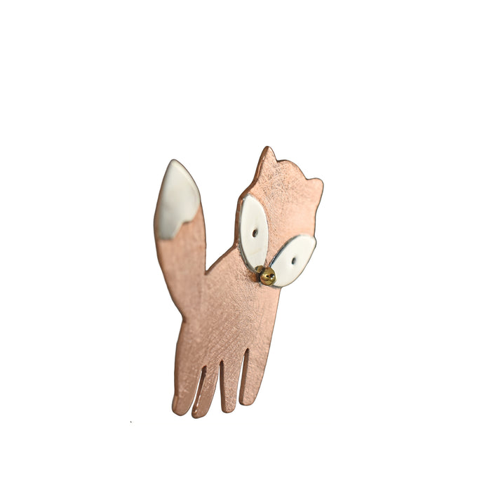 Duet Finlay Fox Brooch