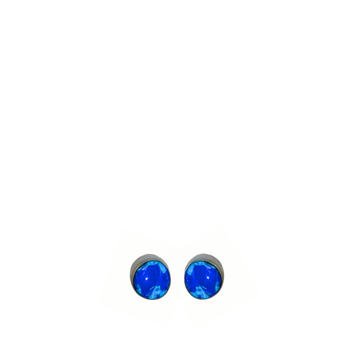 Flinder Blue Mini Dotty Stud earrings