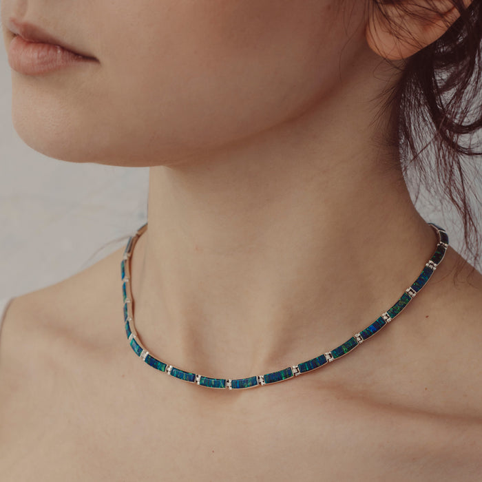 Flinder Emerald Drift Necklace