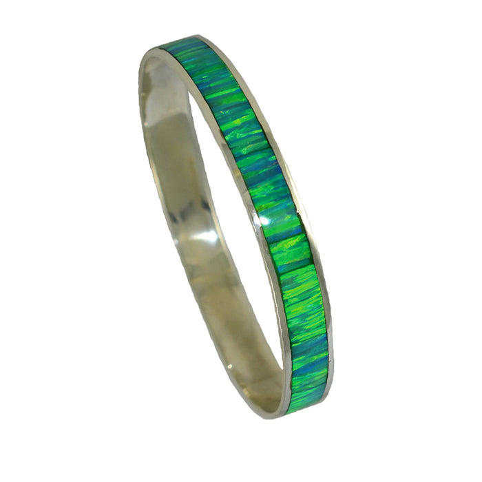Flinder Green Wide Bangle