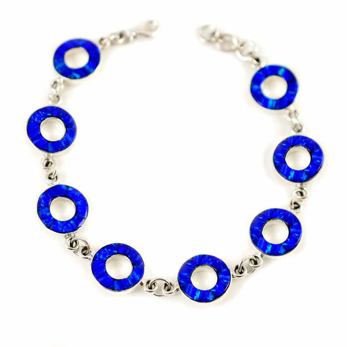 Flinder Halo Blue 8 Bracelet