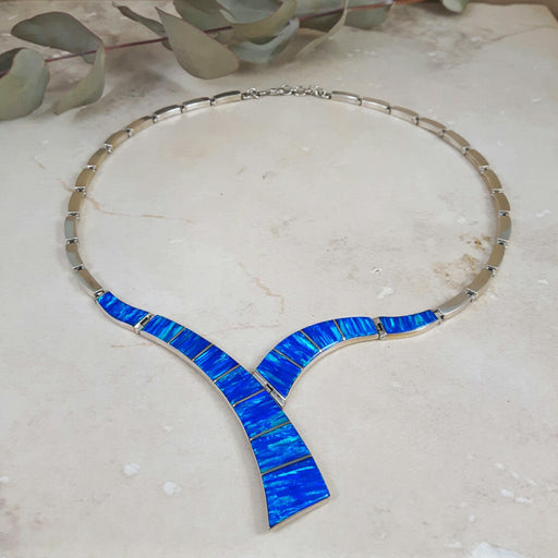 Flinder Inez Blue Necklace