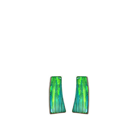 Flinder Green Inez Stud Earrings