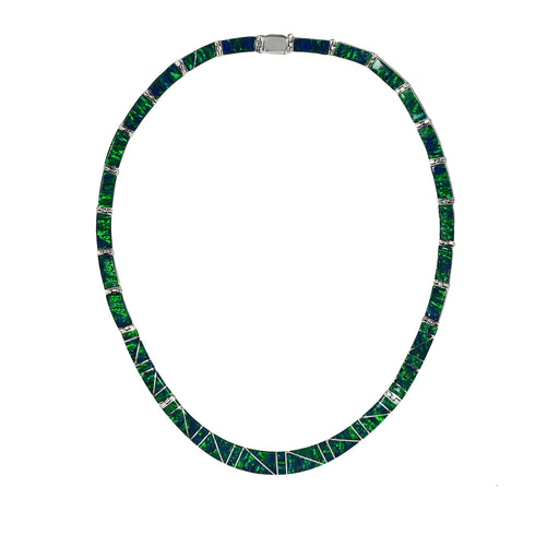 Flinder Emerald Nouveau Necklace