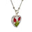 Flores Rosebud Heart Medium Pendant