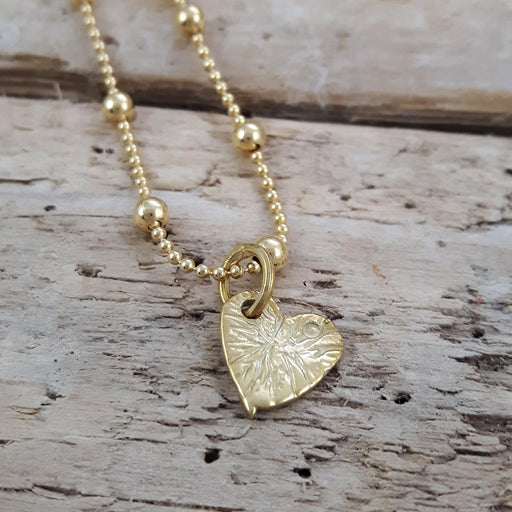 Foresta Claire Gold Heart Charm