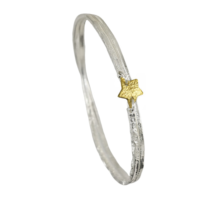 Foresta Claire Star Gold Bangle