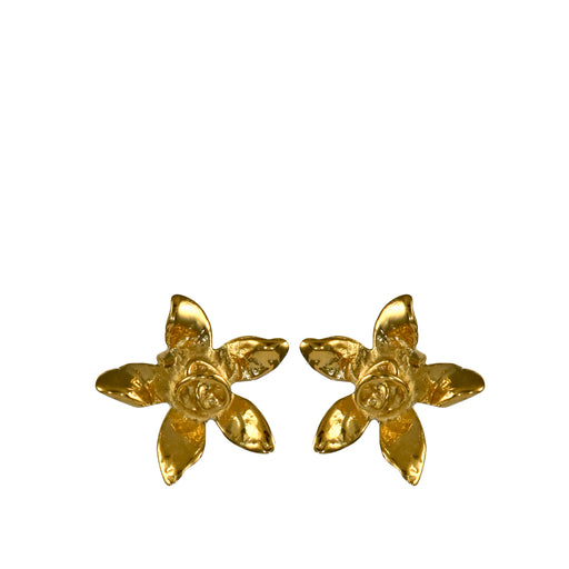 Foresta Daffodil Gold Stud Earrings