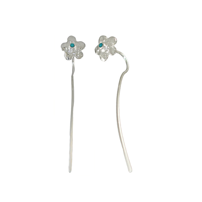 Foresta Daisy Long Drop Earrings