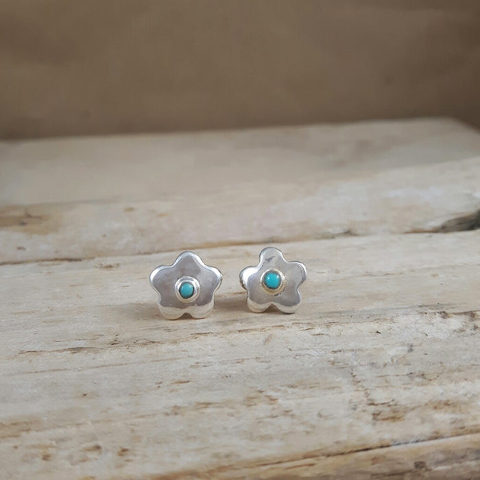 Foresta Daisy Polished Stud Earrings