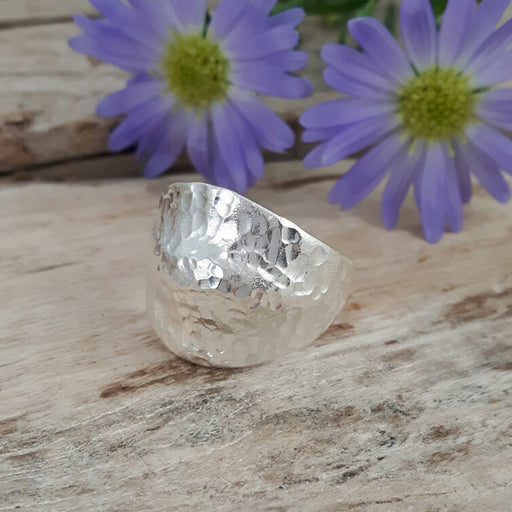 Foresta Duomo Hammered Ring