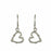 Foresta Love Heart Drop Earrings