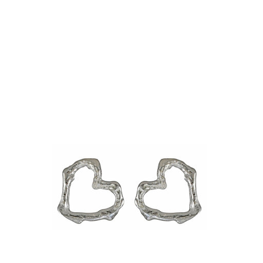 Foresta Love Heart Stud Earrings
