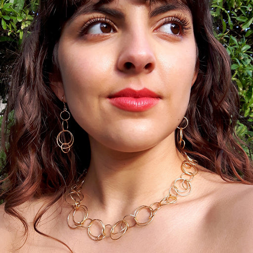Foresta Rhonda Gold Necklace
