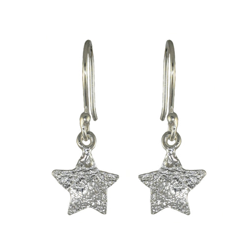 Foresta Claire Star Silver Drop Earrings