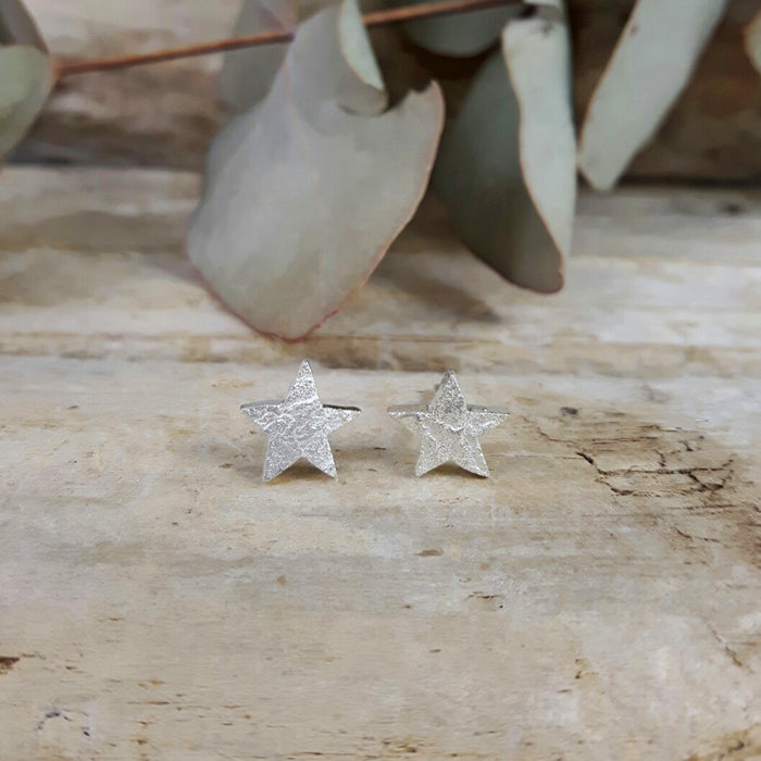 Foresta Tiny Star Silver Stud Earrings