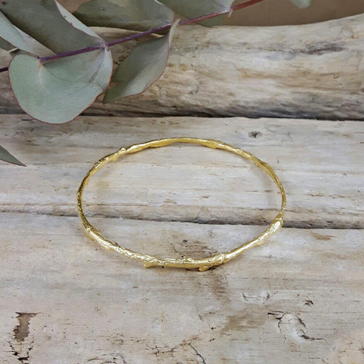 Foresta Yve Gold Single Bangle