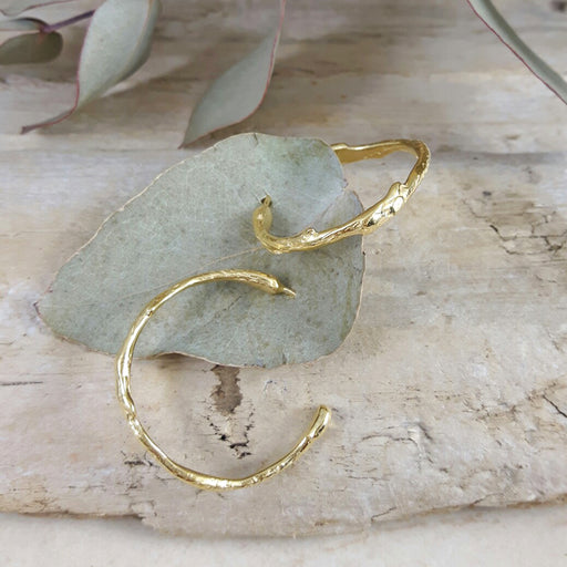 Foresta Yve Gold Hoop Earrings