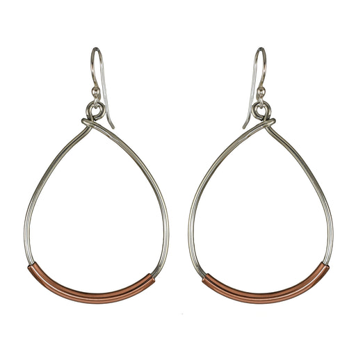 Gaby Teardrop AG/CU Earrings