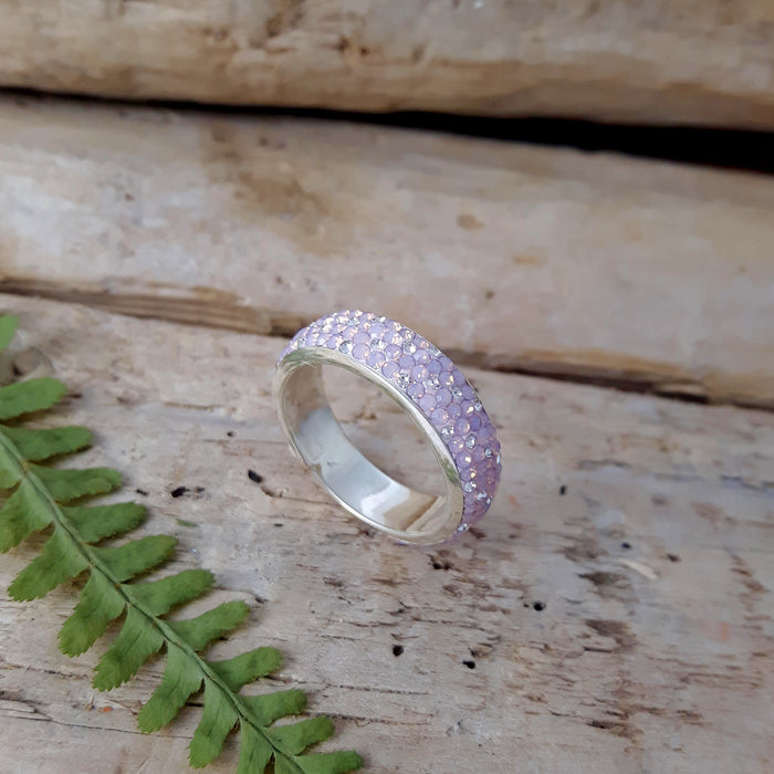 Gala Blush Band Ring