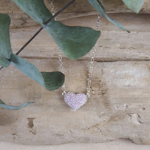 Gala Blush Heart Necklace