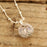 Gala Blush Sphere Drop Pendant