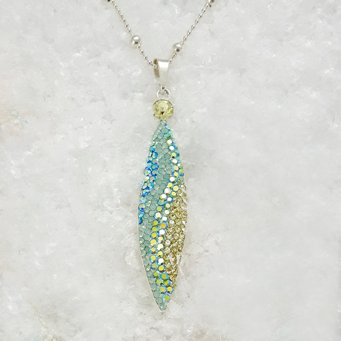 Gala Ice Double Drop Pendant