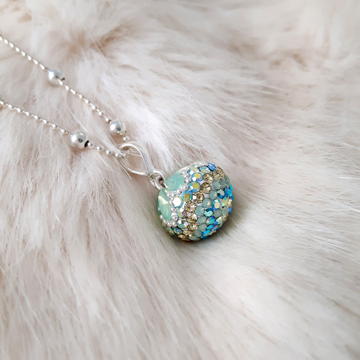 Gala Ice Sphere Drop Pendant