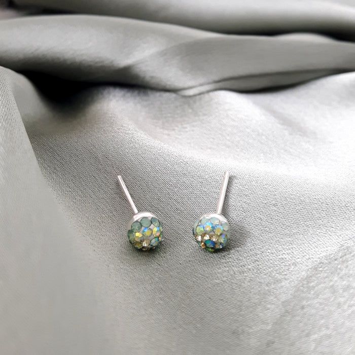 Gala Ice Tiny Stud Earrings
