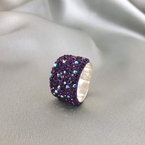 Gala Wide Purple Ring
