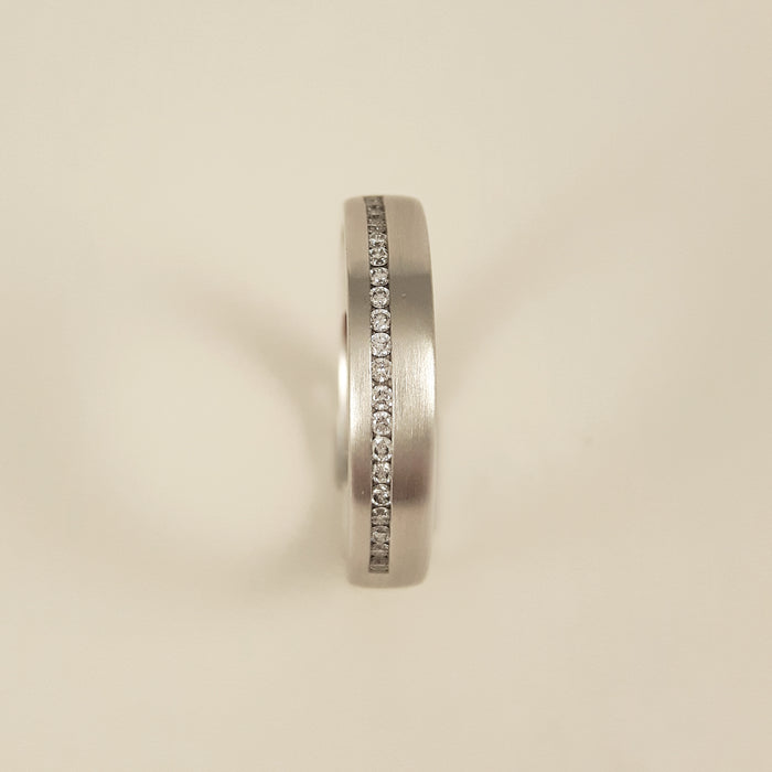Gerstner 750 White Gold Diamond Ring 4/27030/4
