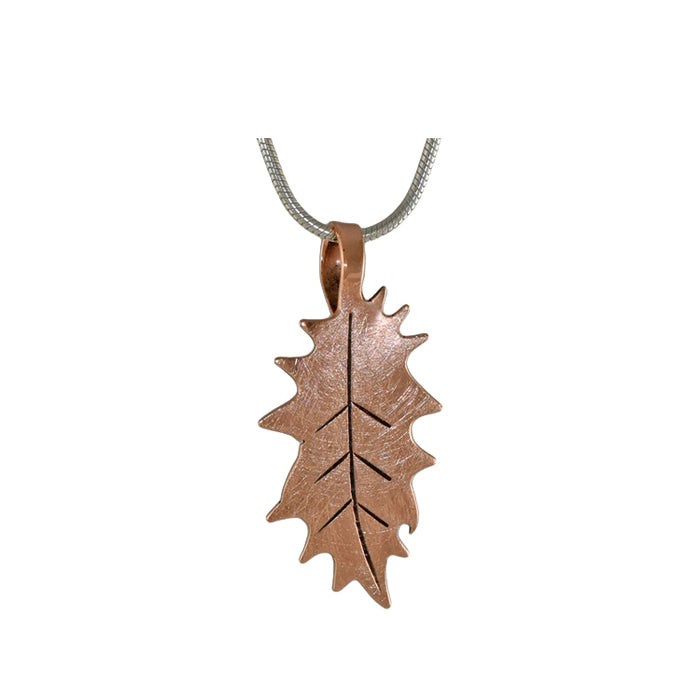 Flora Holly Copper Pendant