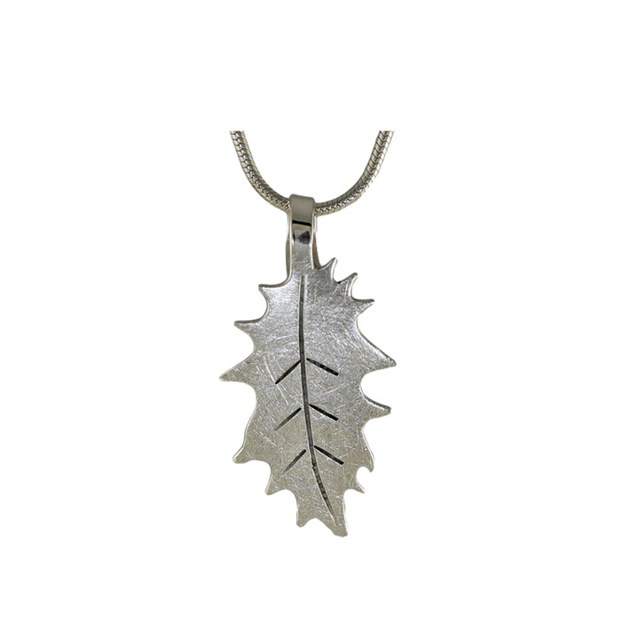 Holly sterling silver pendant
