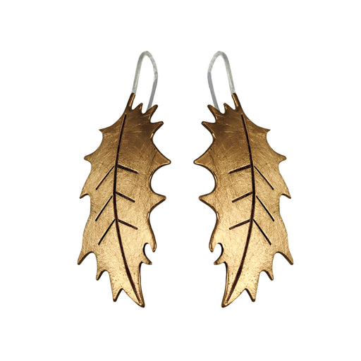 Holly Tumbaga Drop Earrings