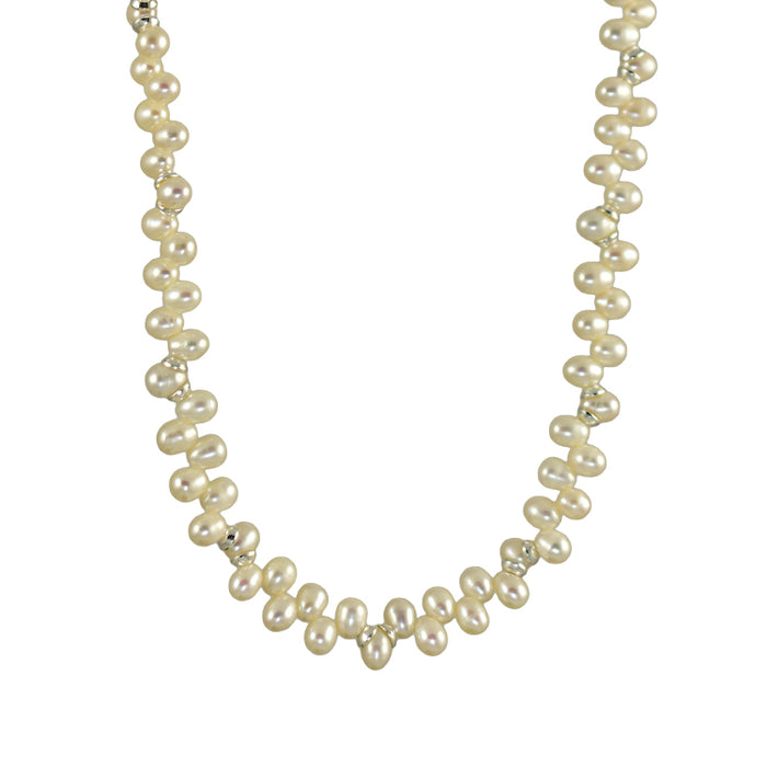 Ingrid White Pearl Necklace