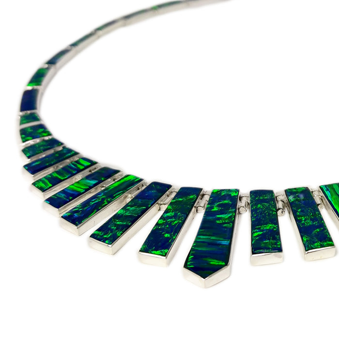 Flinder Kilmory Emerald Necklace