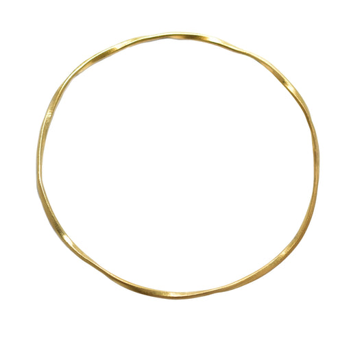 Lattice Single Bangle Gold