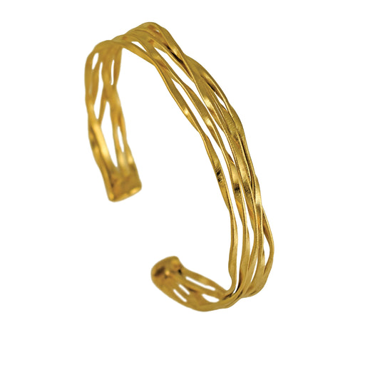 Lattice Cuff Gold