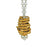 Lattice Gold Pendant