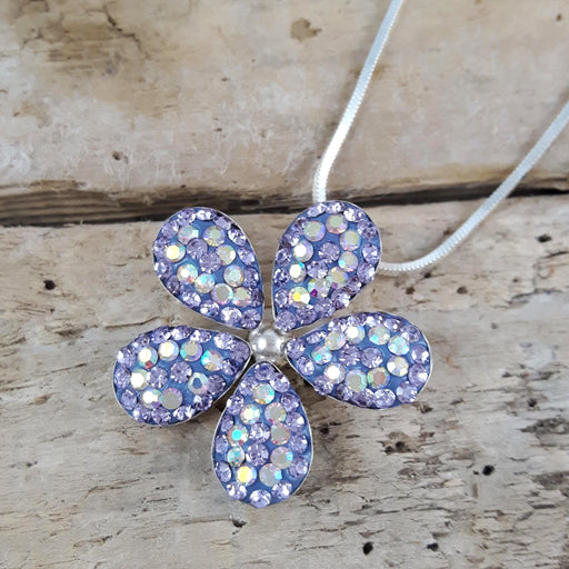 Lucilla Purple Pendant