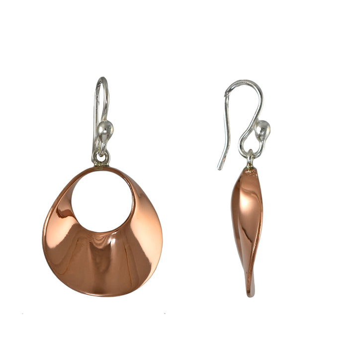 Duo Lulu Copper Drop Earrings
