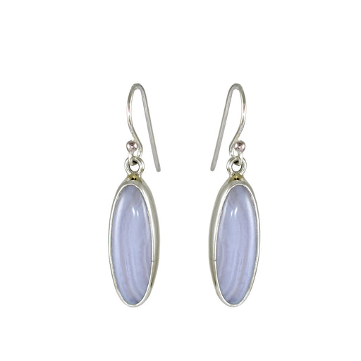 Matisse Blue Lace Agate Drop Earrings