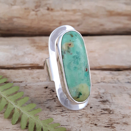 Monet Spring Chrysocolla L Ring