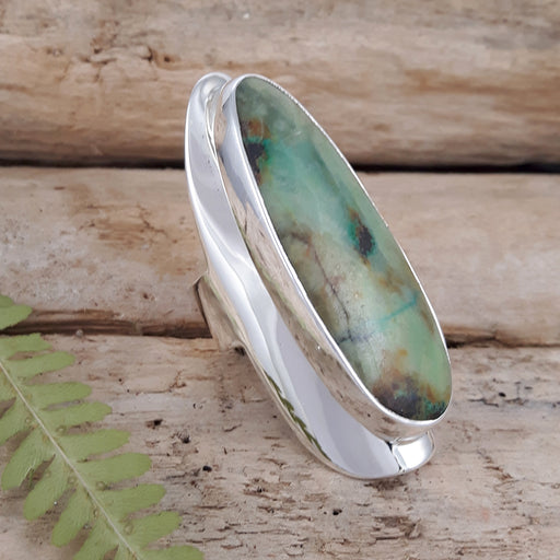 Monet Spring Chrysocolla XL Ring