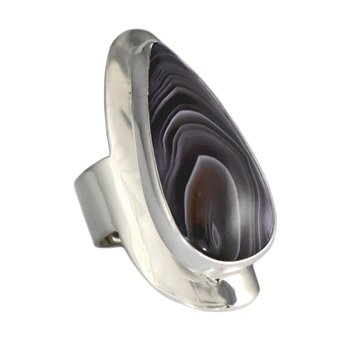 Monet Botswana Agate L Ring
