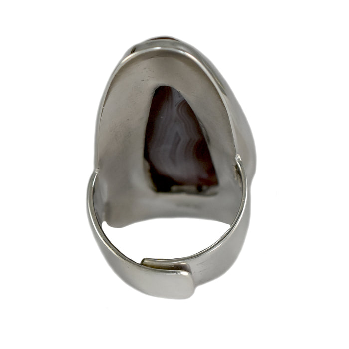 Monet Botswana Agate XL Ring